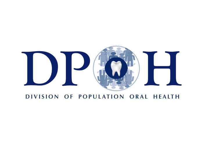 The Division of Population Oral Health logo